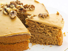 Economical Walnut Cake