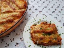 Cannelloni with Mince and Processed Cheese