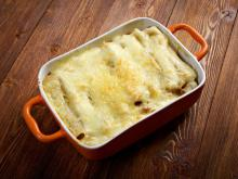 Cannelloni with Veal Mince and Bechamel Sauce