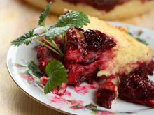 Cherry and Semolina Pie