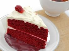 Red Velvet Cake with Coconut