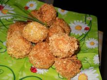 Bread Balls with Stuffing