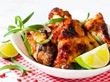 Chicken with Coconut and Lime