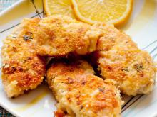 Crunchy Chicken Fillets in the Oven