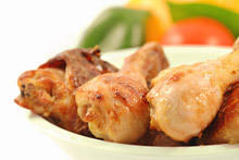 Fried Chicken Drumsticks with Coconut
