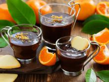 Chocolate Mousse with Orange