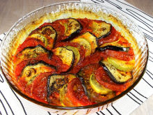 Ratatouille with Fantastic Sauce