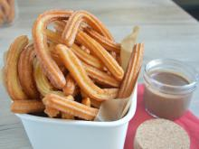 Churros with Chocolate Sauce