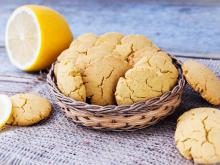 Corn Biscuits with Lemon