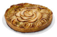 Pie with Pears and Vanilla