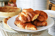 Croissants with Feta Cheese