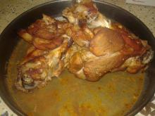 Pork Shank with Garlic