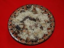 Rice with Chicken Livers