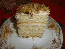 Homemade Village-Style Cake