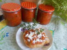 Tomato Appetizer with Garlic