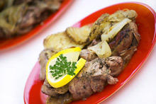 Livers in Butter