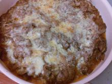 Lightly Roasted Chicken Livers with Onions and Cheese