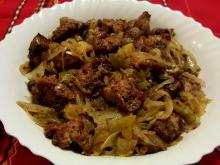 Fried Livers with Onions