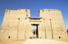 Храмът край Едфу (Temple of Edfu)