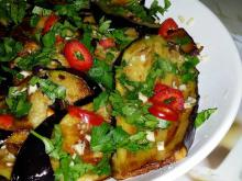 Eggplants with Garlic