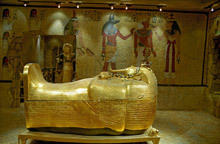 Tutankhamen revealed, died of malaria