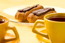 Chocolate Cream Eclairs
