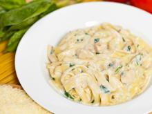 Fettuccine with Gorgonzola Sauce