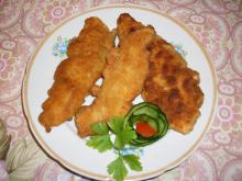 Breaded Chicken Fillets with Breadcrumbs