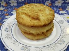 Fried Toast with Corn Breading without Milk and Eggs