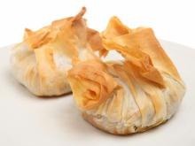 Phyllo Baskets with Olives and Feta