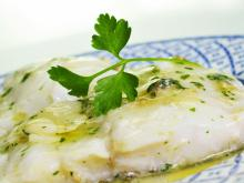 Baked White Fish with White Wine