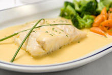 White Fish with a Fine Sauce