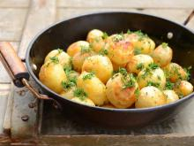 Springtime Sauteed Fresh Potatoes
