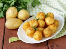 Potato Balls with Feta