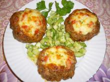 Tasty Birds' Nests with Zucchini and Cheese