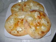 Greek Pitas with Feta Cheese