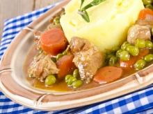 Pork with Peas and Wine