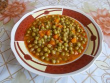 Lean Peas with Carrots in the Oven