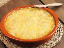 Grated Cheese in the Oven