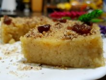 My Semolina Halva with Tahini 2 in 1