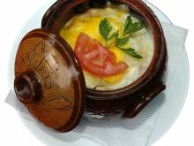 Eggs in a Clay Pot