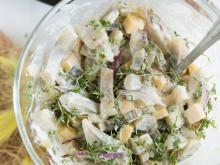 Roman Salad with Herring