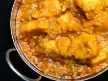 Indian-Style Chicken with Pineapple