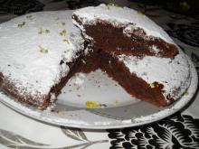 Cocoa Cake with Lemon Zest