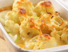 Cauliflower with Cheese