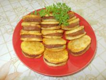 Potato Slices with Mince