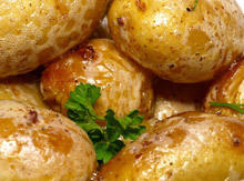 Potatoes with a Salty Crust