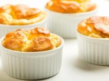 Cheese Soufflé with Mustard