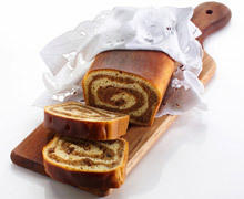 Panettone Roll with Marmalade