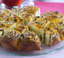 Syrupy Pastry Florets